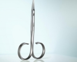 RUBIS Serie Sauro - Forbice da unghie in acciao inox lunghezza cm. 11