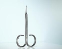 RUBIS Serie Colibrì - Forbice da pelle in acciao inox lunghezza 3,5''