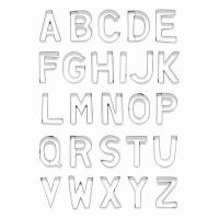 BIRKMANN Set 26 tagliabiscotti lettera dalla A alla Z
