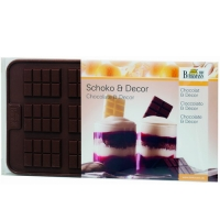 BIRKMANN Stampo in silicone per cioccolatini - Tavolette di cioccolato