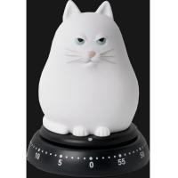 Timer gatto bianco