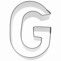 """BIRKMANN Tagliabiscotti lettera """"G"""""""