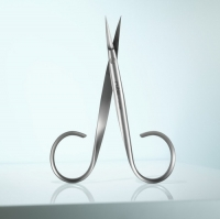 RUBIS Serie Colibrì - Forbice da pelle in acciaio inox lunghezza 3,5''