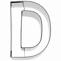 """BIRKMANN Tagliabiscotti lettera """"D"""""""