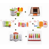 ZOKU Kit COMPLETO con Quick Pop Maker 2 postazioni