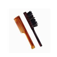Pettine e spazzola per barba e baffi