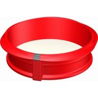 LEKUE Stampo in silicone per torta con fondo staccabile