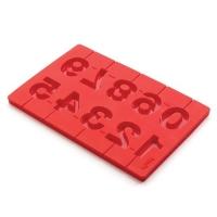LEKUE Stampo 3D lecca lecca numeri