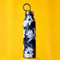 """Bottiglia termica """"Chilled"""" 550 ml fiori azzurri ALADDIN"""