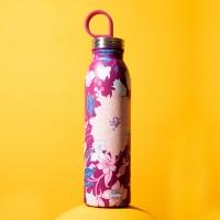 """Bottiglia termica """"Chilled"""" 550 ml fiori rosa ALADDIN"""