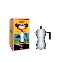"""Caffettiera espresso """"Pulcina"""" ALESSI 1-3 tazze"""