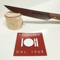 Set 6 coltelli da bistecca con manico noce DUE CIGNI