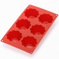 LEKUE Stampo professionale in silicone per briochette