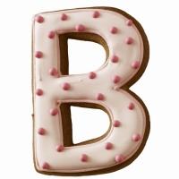 """BIRKMANN Tagliabiscotti lettera """"B"""""""
