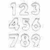 BIRKMANN Set 10 tagliabiscotti numero dallo 0 al 9