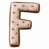 """BIRKMANN Tagliabiscotti lettera """"F"""""""