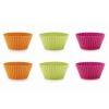LEKUE Stampini Muffin confezione 6 pezzi in silicone