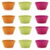 LEKUE Stampini Muffin confezione 12 pezzi in silicone