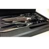 Set 6 coltelli bistecca manico in resina nero LAGUIOLE en AUBRAC