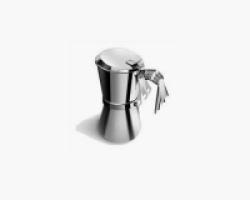 Caffettiera GIANNINA in acciaio inox 1 tazza