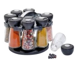 Porta spezie con 8 contenitori KUCHENPROFI